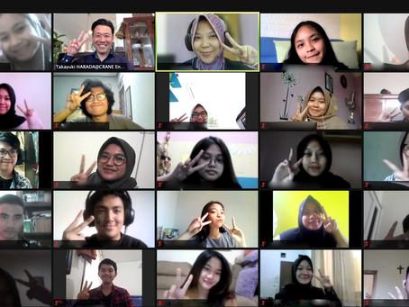 インドネシアの授業にゲスト登壇!