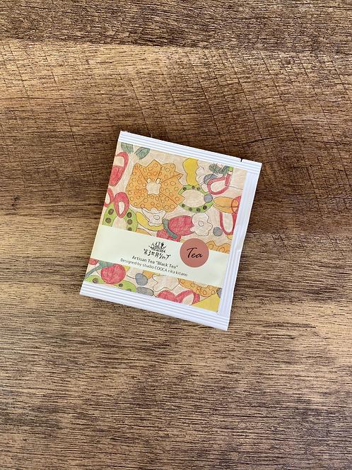 【1包】Artisan フェアトレードブラックティー(フルーツゼリー柄)1.8g