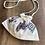 Thumbnail: ミラー刺繍 肩掛けポーチ ダイヤ柄