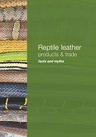Reptile leather products and trade myths and facts