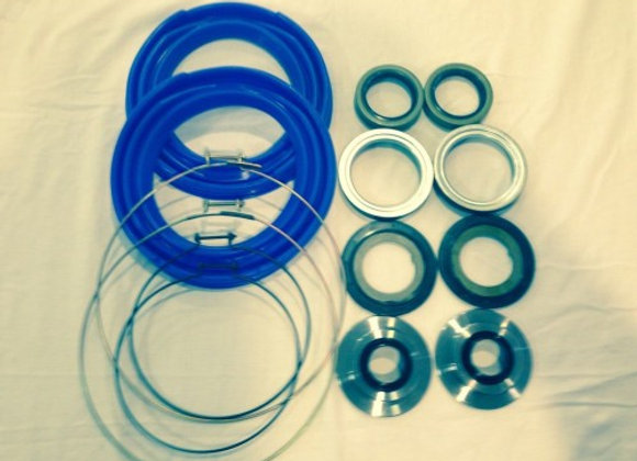 2.5 TON FRONT AXLE BLUE BOOT AND SEAL KIT M35 M109 MILITARY MUD TRUCK