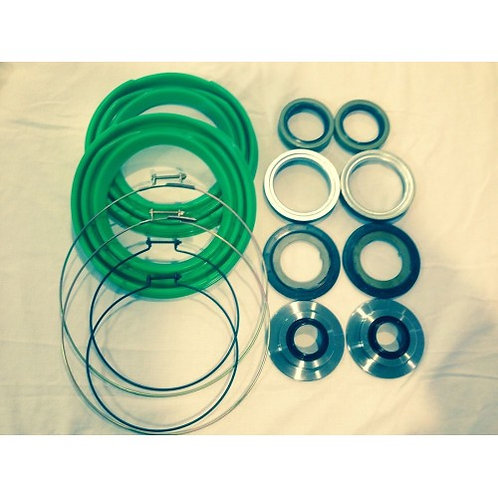 2.5 TON FRONT AXLE GREEN BOOT AND SEAL KIT M35 M109 MILITARY MUD TRUCK