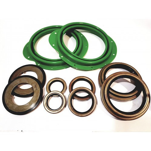 5 TON FRONT AXLE BOOT AND SEAL KIT WITH OUTER HUB SEALS M809 M939 M54