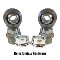 Heim joints and hardware.