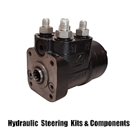 Hydraulic steering kits and components.
