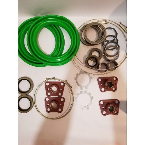 2.5 TON FRONT AXLE OVERHAUL KIT WITH GREEN BOOTS M35 M35A1 M35A2 MILITARY