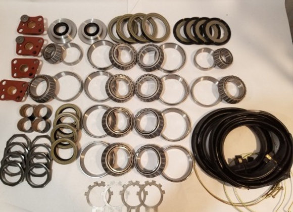 2.5 TON STEER AND REAR FULL REBUILD KIT MUD TRUCK M35A2 MILITARY