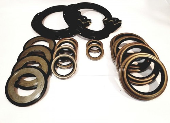 5 TON AXLE 16 PC ZIPPER BOOT KIT WITH ALL SEALS M809 M939 M54