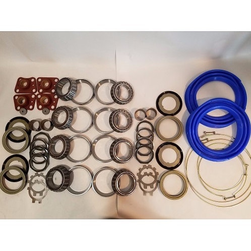 2.5 TON STEER AND REAR AXLE HUB/KNUCKLE OVERHAUL KIT WITH BLUE BOOTS M35 M35A1 M35A2 MILITARY