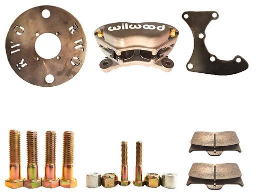 Wilwood 2.5 ton pinion brake kit with hardware