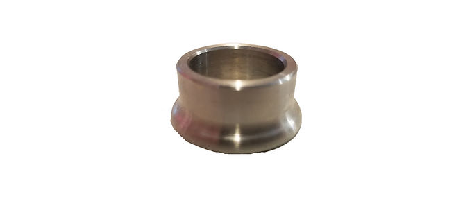 """3/4"""" BORE CONE SPACER .500"""" THICK 300 SERIES STAINLESS STEEL EACH"""