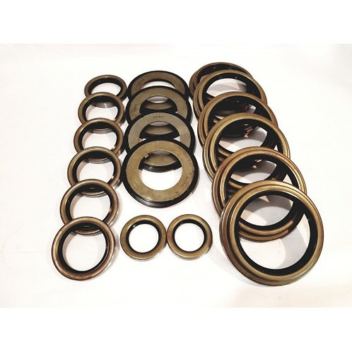 5 TON 3 AXLE STEER AND REAR SEAL KIT (2 STEER AND 1 REAR)