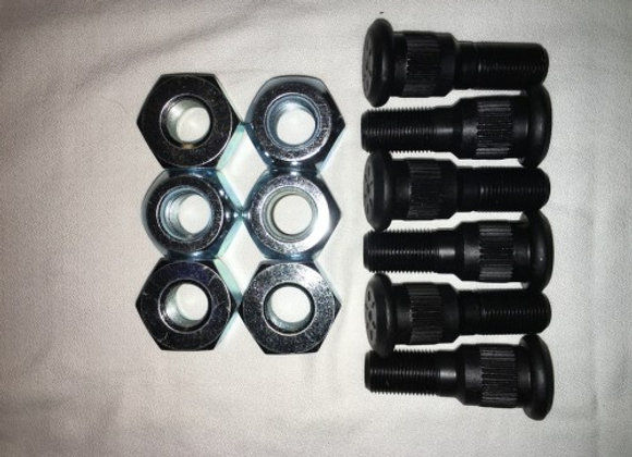 2.5 TON RH LUGS AND STUD KIT (6) RH KITS