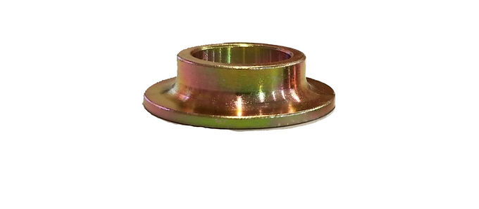 """1"""" BORE CONE SPACER .400"""" THICK ZINC COATED MILD STEEL"""