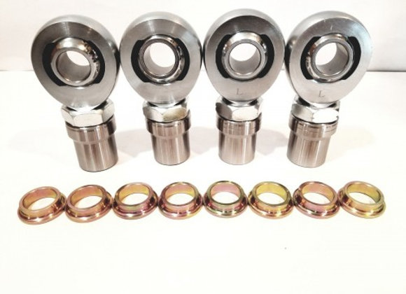 "1.25"" X 1"" BORE W/ 1"" SPACERS (2LH & 2RH)"
