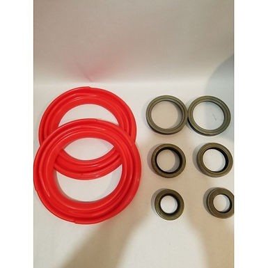 2.5 TON FRONT AXLE TUNE-UP KIT WITH RED BOOTS M35 M35A1 M35A2 MILITARY