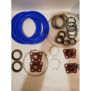 2.5 TON FRONT AXLE OVERHAUL KIT WITH BLUE BOOTS M35 M35A1 M35A2 MILITARY