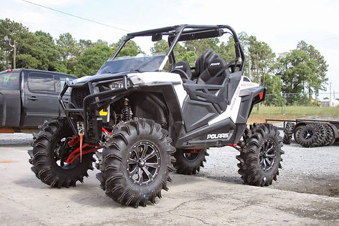 Rockwell Offroad ATV & UTV Parts that include ball joints, heim joints, transmission parts, wheel bearings, tube & cage clamps, and more.