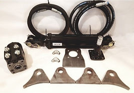 FULL STEER KIT W_ HOSES & RAM FITTINGS _
