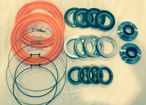 2.5 TON 20 PC ORANGE BOOT AND SEAL KIT M35 M109 MILITARY MUD CRAWLER