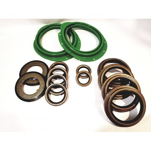 5 TON AXLE 14 PC GREEN BOOT AND SEAL KIT M809 M939 M54