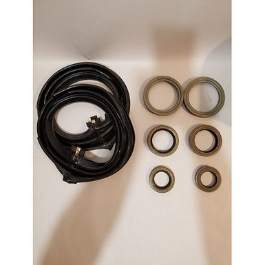 2.5 TON FRONT AXLE TUNE-UP KIT WITH ZIPPER BOOTS M35 M35A1 M35A2 MILITARY