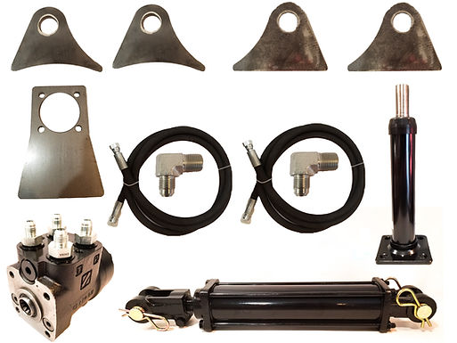 SINGLE ENDED RAM HYDRAULIC STEER BUILD A KIT