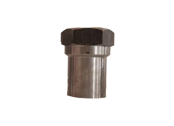 1 1/4-12 HEX TUBE INSERT FOR 1 1/2 INCH ID TUBE