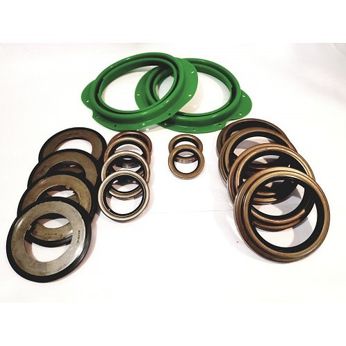 ROCKWELL 5 TON AXLE 16 PC GREEN BOOT KIT WITH ALL SEALS M809 M939 M54