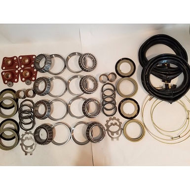 2.5 TON STEER AND REAR AXLE HUB/KNUCKLE OVERHAUL KIT WITH ZIPPER BOOTS M35 M35A1