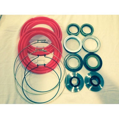 2.5 TON FRONT AXLE RED BOOT AND SEAL KIT M35 M109 MILITARY MUD TRUCK