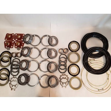 2.5 TON STEER AND REAR AXLE HUB/KNUCKLE OVERHAUL KIT WITH BLACK BOOTS M35 M35A1