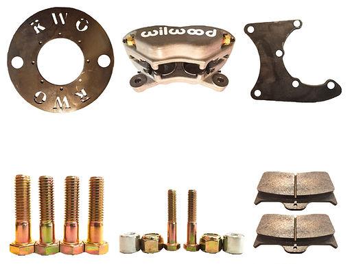 Wilwood 5 ton pinion brake kit with hardware