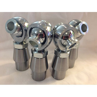 """1/4 SET (4) 3/4"""" X 3/4"""" HEIMS, BUNGS, JAM NUTS, AND SPACERS (2 LH AND 2 RH)"""