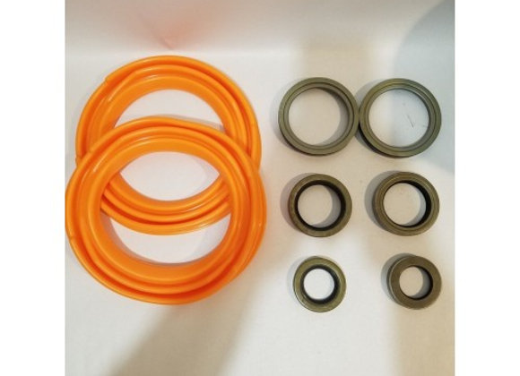 2.5 TON FRONT AXLE TUNE-UP KIT WITH ORANGE BOOTS M35 M35A1 M35A2 MILITARY