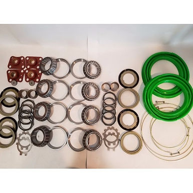 2.5 TON STEER AND REAR AXLE HUB/KNUCKLE OVERHAUL KIT WITH GREEN BOOTS M35 M35A1