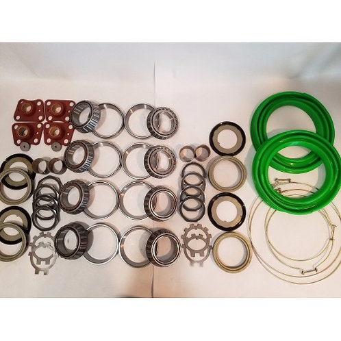 2.5 TON STEER AND REAR AXLE HUB/KNUCKLE OVERHAUL KIT WITH GREEN BOOTS M35 M35A1 M35A2 MILITARY