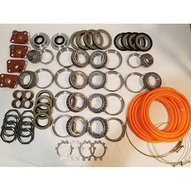 2.5 TON STEER AND REAR FULL REBUILD KIT MUD TRUCK ROCKWELL M35A2 MILITARY