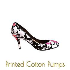 Flower prints stilettos