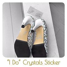 I Do Crystals Sticker