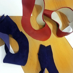 Shoes Handmaking-Leather Cut &Lining
