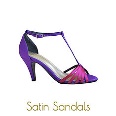 Purple and Pink sandals