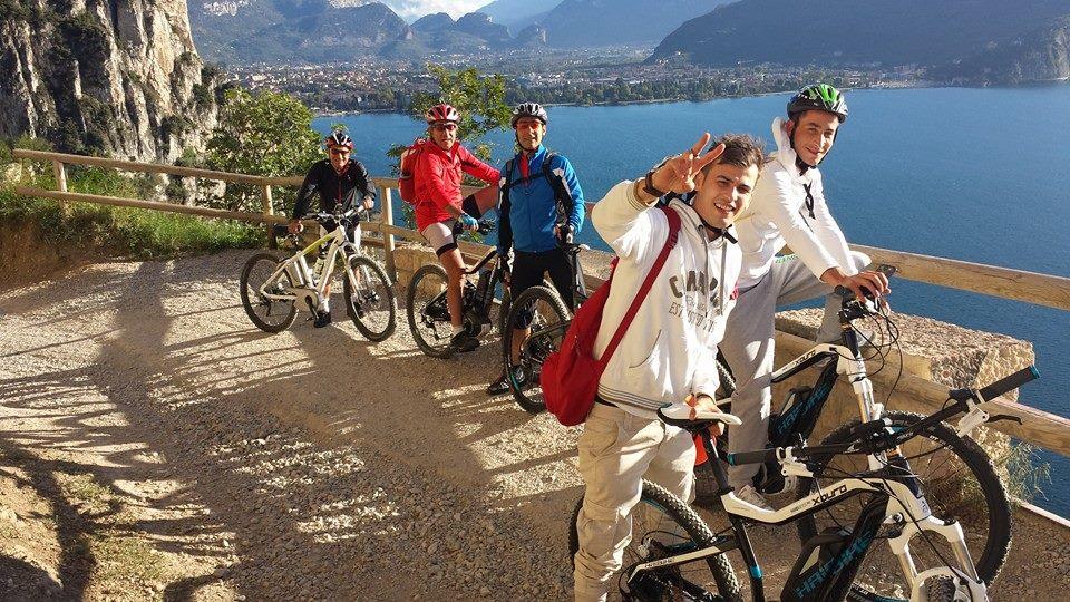 Riva del Garda, Mountain Bike sulla