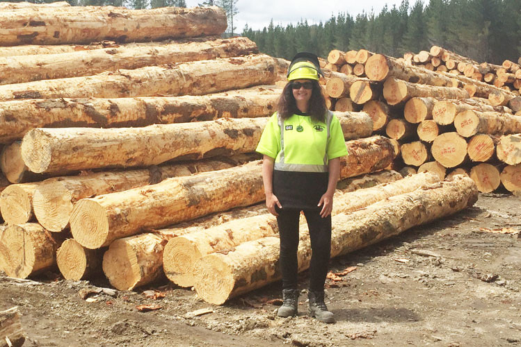 Rachael Brown Jensen Logging