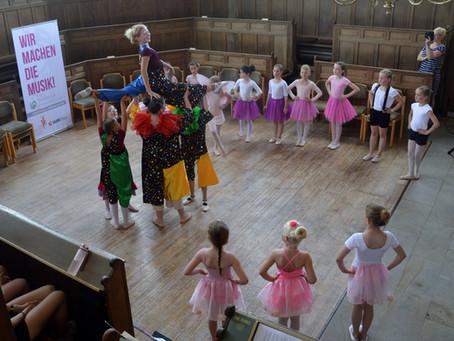 Kindertanz und Ballett neu in Emlichheim - freie Plätze in Neuenhaus
