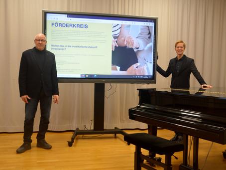 Digitale Tafeln für die Musikschule