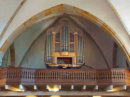 """Freie Plätze im Fach """"Orgel"""""""
