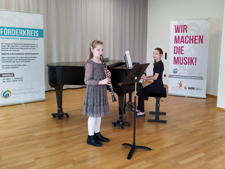 Top-Ergebnisse an der Musikschule Niedergrafschaft