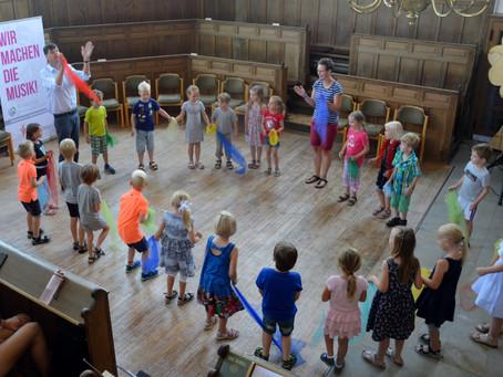 Neue Kurse MFE -Musikalische Früherziehung- ab August