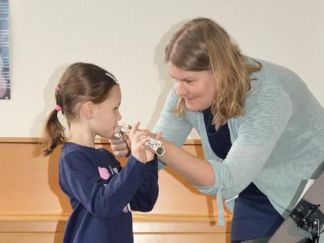 Schnuppermonat an der Musikschule Niedergrafschaft